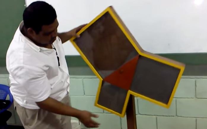 teorema de pitagora con arena pof Adonis